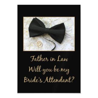 O sogro seja por favor o assistente da noiva