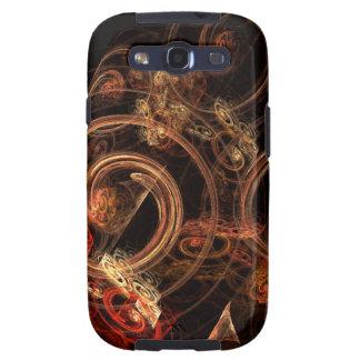 O som da galáxia S3 de Samsung do abstrato da músi Capa Para Galaxy S3