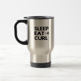 O sono come a caneca da onda