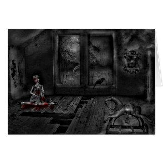 O sótão do rubi cartão comemorativo