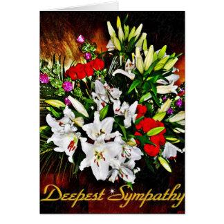 O Sympathy_Card o mais profundo Cartão