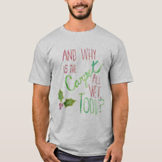 O T dos homens do feriado de Margo Camiseta