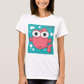 O t-shirt básico das mulheres dos peixes