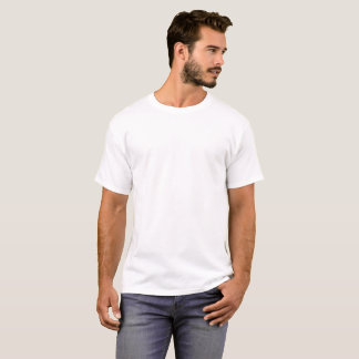 O t-shirt básico dos homens