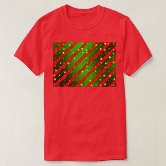 O t-shirt básico dos homens do vermelho boas