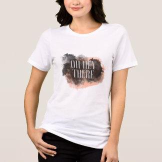 O t-shirt chique das mulheres