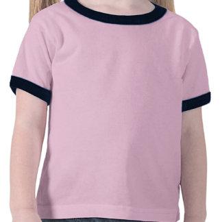 O t-shirt da campainha da criança retro é