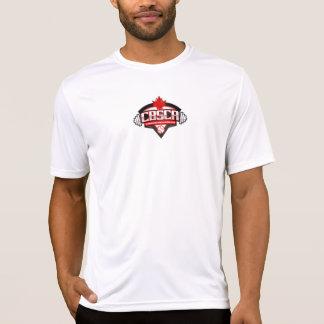 O t-shirt da força do Esporte-Tek dos homens de