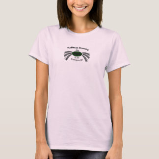 O t-shirt da mulher de Hoffman Brewing Empresa