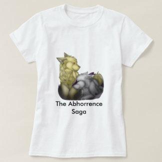 O t-shirt da saga do Abhorrence
