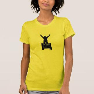 O t-shirt das mulheres apalaches das