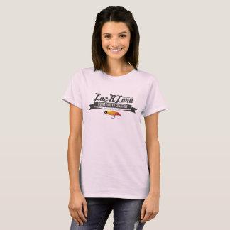 O t-shirt das mulheres da atração de Laz'R