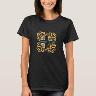 O t-shirt das mulheres de Beverly Hills