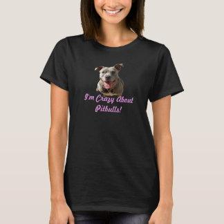O t-shirt das mulheres de Pitbulls