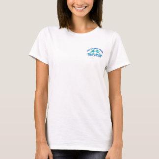 O t-shirt das mulheres - o cruzeiro dos golfinhos