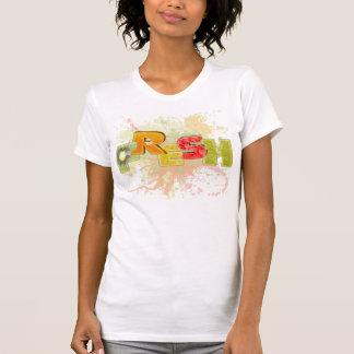 O t-shirt das senhoras FRESCAS