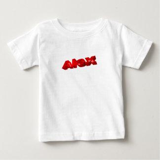 O t-shirt de Alex