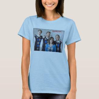 O t-shirt desavergonhado das mulheres do feriado