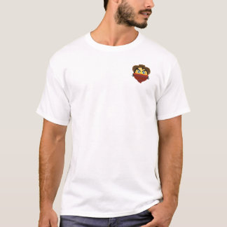 O t-shirt desonesto astuto de Emoji (design do