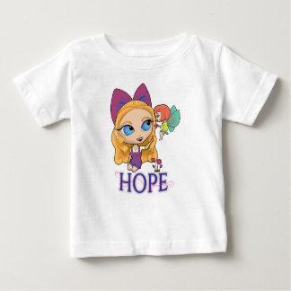"""O t-shirt do bebê da """"ESPERANÇA"""" de Rosie & de"""