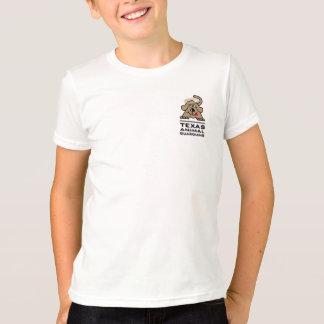 O t-shirt do menino do logotipo do guardião