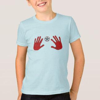 O t-shirt do miúdo