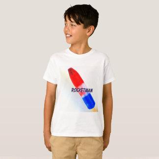 O t-shirt do miúdo de Rocketman