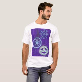 O t-shirt dos homens especiais do floco de neve