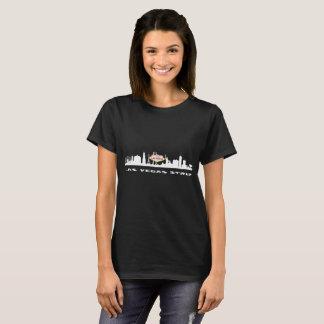 O t-shirt escuro das mulheres do ANIVERSÁRIO da