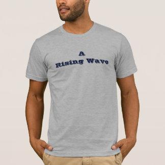 """""""O t-shirt ou o Hoodie dos homens de uma onda da"""