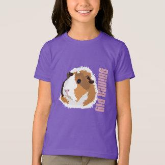 """O t-shirt retro das crianças de """"Elsie"""" da cobaia"""