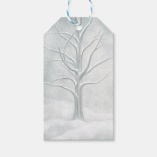 O Tag Enchanted do presente da árvore Etiqueta Para Presente