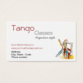 O tango feito sob encomenda classifica o cartão de