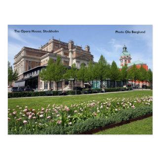 O teatro da ópera, Éstocolmo, Phot… Cartão Postal