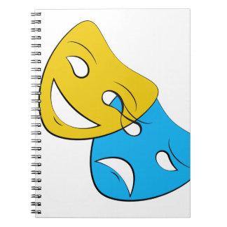 O teatro do dobramento mascara o caderno
