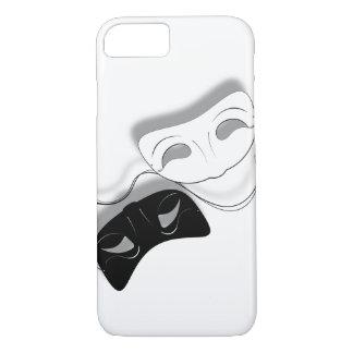 O teatro mascara a capa de telefone