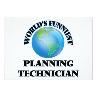 O técnico o mais engraçado do planeamento do mundo convite personalizados