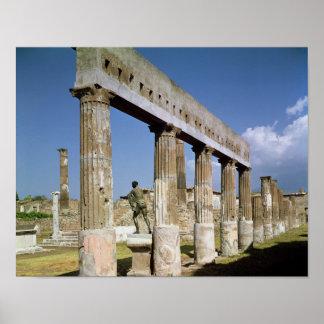 O templo de Apollo Poster