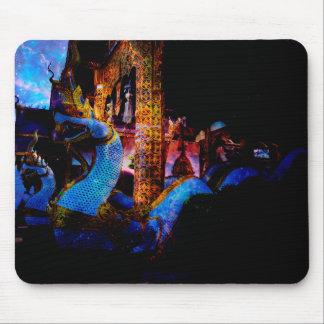 O templo do tempo mouse pad