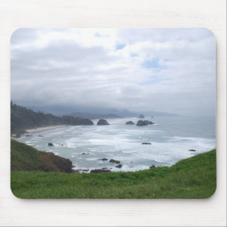 O tempo da costa de Oregon Mouse Pads
