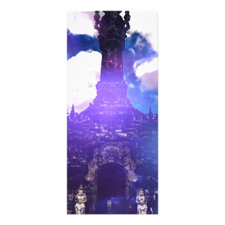 O tempo do templo esqueceu 10.16 x 22.86cm panfleto