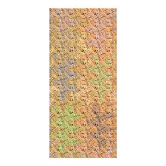 O teste padrão de onda seco da lama & a cor de 10.16 x 22.86cm panfleto