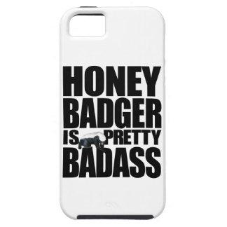 O texugo de mel é Badass bonito Capa Tough Para iPhone 5
