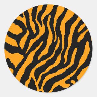 O TIGRE RETRO dos anos 80 do TIGRE de COREY LISTRA Adesivo
