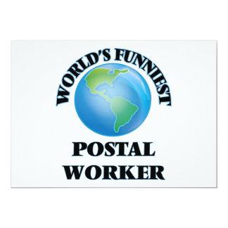 O trabalhador postal o mais engraçado do mundo convite