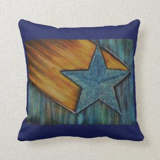 O travesseiro flamejante da estrela
