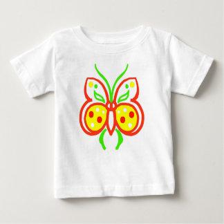 O Tshirt da criança abstrata brilhante da