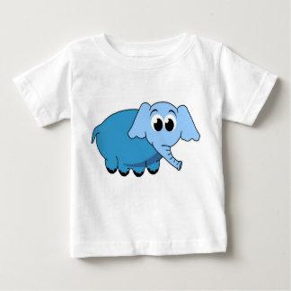 O Tshirt das crianças azuis dos desenhos animados
