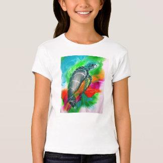 o tshirt das crianças da tartaruga de mar, maui,