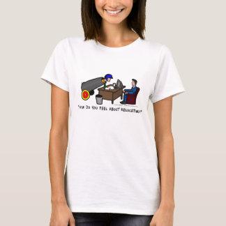 O Tshirt das mulheres engraçadas da entrevista de